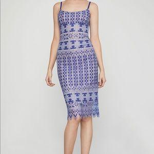 BCBG Alese Midi Dress Blue